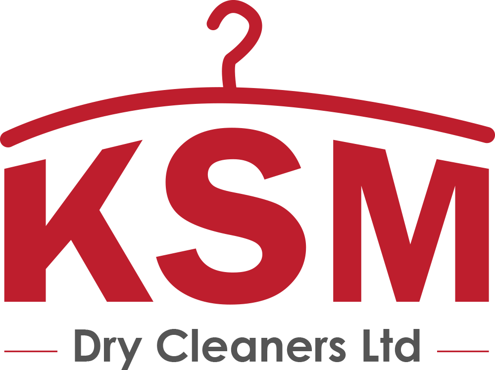 KSM Dry Cleaners Logo